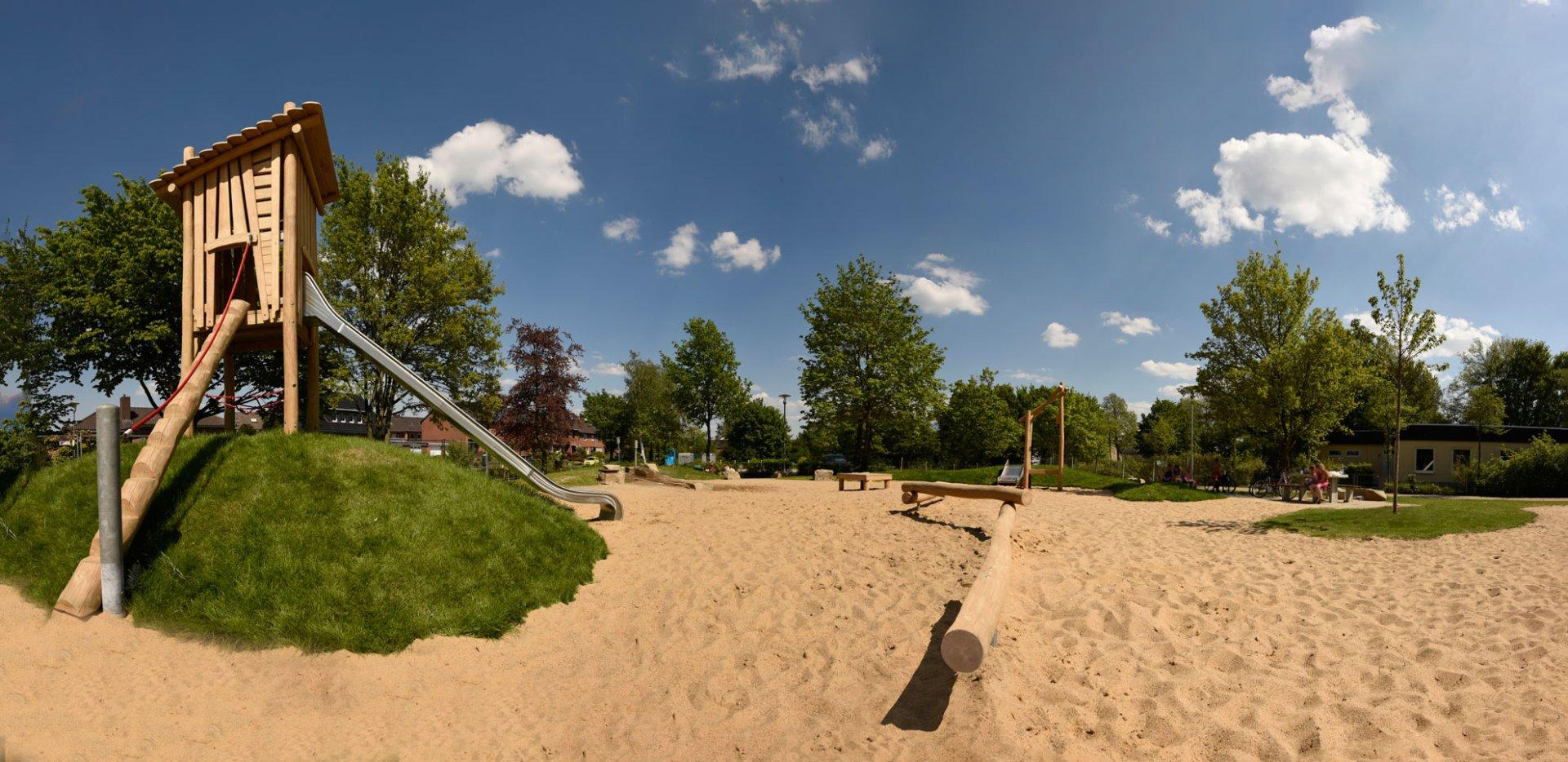 Kinderspielplatz bendenstra e kempen st hubert meyers - Garten und landschaftsbau st ingbert ...